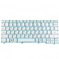 Клавиатура для Lenovo Ideapad 100S-11Iby, RU, белая