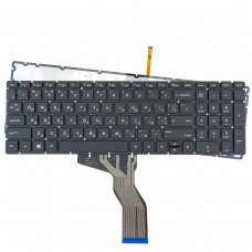 Клавиатура для HP 250 255 G6, Pavilion 15-cd 15-CC 15-BS 15-BW, RU/UA, (черная, с подсветкой)