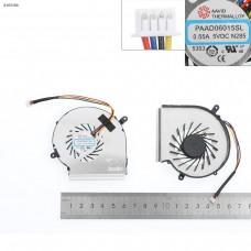 Вентилятор для MSI GE62VR GP62MVR, MS-16J9 MS-16JB, (PAAD06015SL, 4pin, для GPU, OEM)