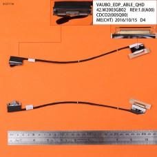 Шлейф матрицы для Dell XPS 15 9530 L522X M3800, (dc02c005q00, vaubo, 40pin eDP)