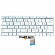 """Клавиатура для Xiaomi Air 13.3"""", RU, (490.09U07.0D01, 9Z.ND7BW.001, MK10000005761, silver, с подсветкой)"""