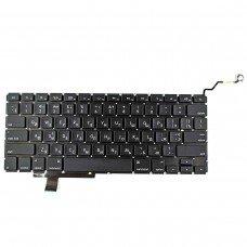 """Клавиатура для Apple Macbook Pro 17"""" A1297, 2009 2010 2011 2012, RU, Black, (горизонтальный Enter)"""