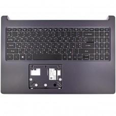 Корпус верхняя крышка для ноутбука Acer Aspire A515-54 A515-54G, (топкейс с клавиатурой с подсветкой, 6B.HDGN7.063, 6B.HDGN7.043, 6B.HDGN7.059, C Cover, Original)