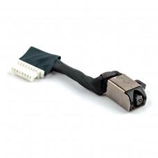 Разъем питания для Dell Inspiron 5480 5481 5488 5490 5498 5580 5584 series, (0K0XF2, PJ991, с проводом/кабелем)
