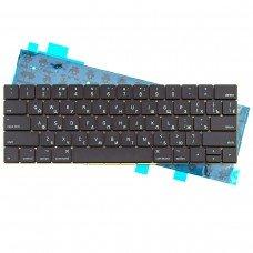 """Клавиатура для Apple MacBook Pro 13.3"""" A1706, RU, (черная, с подсветкой)"""