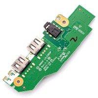 Плата LS-F953P для Acer Aspire Nitro AN515-52 AN515-53 Predator PH315-51 PH317-52, GTX1050, (55.Q3HN2.001, 2xUSB, Audio)