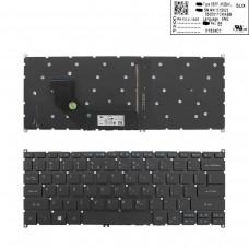 Клавиатура для Acer Swift 3 SF314-52, US, (черная, V153402CS SQNR114C1 NKI131S023 5500016FKABB PK131JL1A00, Original)