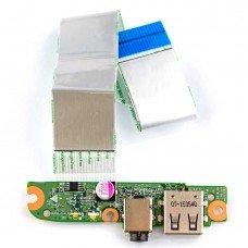 Плата DA0U83TB6E0 для HP Pavilion 15-f 15-n 15z-n 15t-n, (737043-001, 732077-001, 1xUSB, 1xAudio)