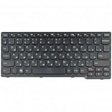 Клавиатура Lenovo IdeaPad S110 S200 S206 Black RU