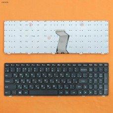 Клавиатура Lenovo IdeaPad G500 G505 G510 G700 G710 RU (черная, OEM)