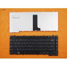 Клавиатура Toshiba Satellite A200 A205 A210 A215 A300 A305 M200 M300 L300 RU Black