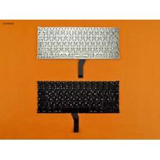 """Клавиатура для Apple Macbook Air 13"""" A1369 A1466 2011-2015, MC965 MC966 MC503 MC504 MD231 MD232, RU, (черная, под подсветку, вертикальный Enter)"""